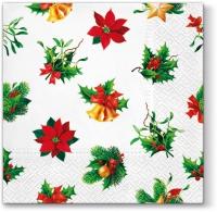 Servietten 33x33 cm - Weihnachten um