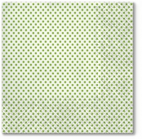 Servietten 33x33 cm - Small Dots (kiwi)