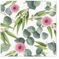 Servietten 33x33 cm - Leaves of Eucalyptus
