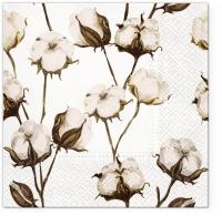 Servietten 33x33 cm - Cotton Branches