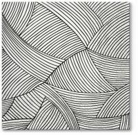 Servietten 33x33 cm - Geometric Braid