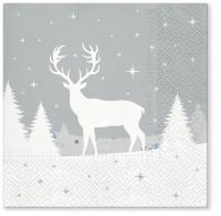 Servietten 33x33 cm - Serwetki Forest deer