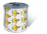 Toilettenpapier Topi Chicken in action