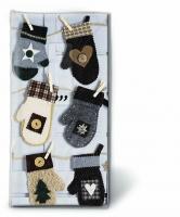 Taschentücher - Weihnachtsfäustling