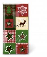 Taschentücher Xmas patchwork