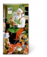 Taschentücher Santa is busy