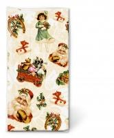 Taschentücher Christmas stickers