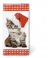 Taschentücher Santa kitty
