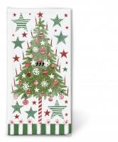 Taschentücher Decorated tree