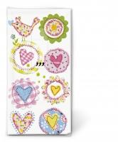 Taschentücher - Schöne Herzen