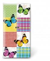 Taschentücher - Schmetterlinge & Quadrate
