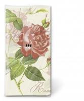 Taschentücher - Klassische Rose