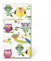 Taschentücher - TT Colourful owls