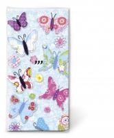 Taschentücher - Handgemachte Schmetterlinge