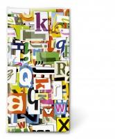 Taschentücher - Colourful letters