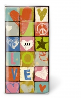 Taschentücher - Love and peace