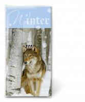 Taschentücher Winter has come