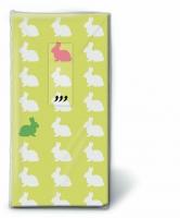 Taschentücher TT Hares pattern