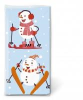 Taschentücher Active snowmen