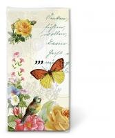 Taschentücher - Porträt des Schmetterlings