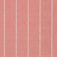 Servietten 25x25 cm - Haus rosé