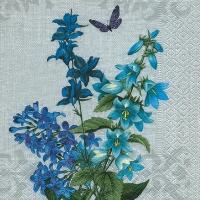Servietten 25x25 cm - Blauer Sommer