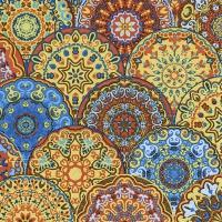 Servietten 25x25 cm - Gotische Rosetten