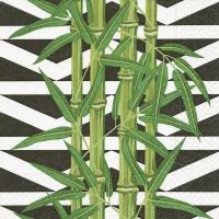 Servietten 25x25 cm - Bambusblätter