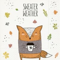 Servietten 25x25 cm - Sweater weather