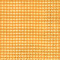 Servietten 24x24 cm - Vichy yellow