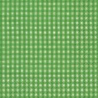 Servietten 24x24 cm - Vichy green