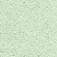 Servietten 25x25 cm - Moments Ornament pale green