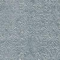 Servietten 25x25 cm - Momente Ornament Silber