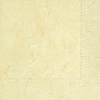 Servietten 25x25 cm - Pure cream