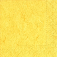 Servietten 25x25 cm - Pure yellow