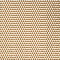 Servietten 33x33 cm - Dreiecke über alles Gold