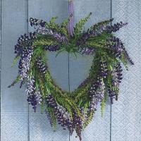 Lunch Servietten Wreath of Provence