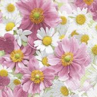 Servietten 33x33 cm - Blossom carpet