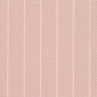 Servietten 33x33 cm - Haus rosé