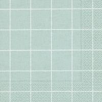 Servietten 33x33 cm - Heim quadratisches Aqua