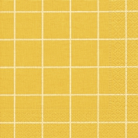 Servietten 33x33 cm - Home square yellow