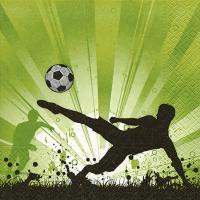 Servietten 33x33 cm - Fußballmanie