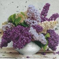 Lunch Servietten Bouquet in spring