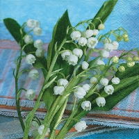 Lunch Servietten Lily of the valley