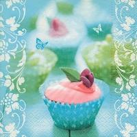 Lunch Servietten Sweet cupcake