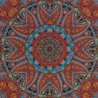 Servietten 33x33 cm - Blühende Farben