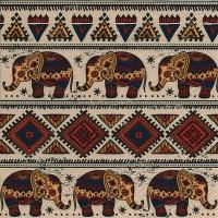 Servietten 33x33 cm - Afrikanisches Muster