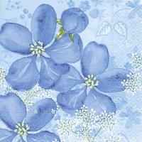 Servietten 33x33 cm - Tender flowers