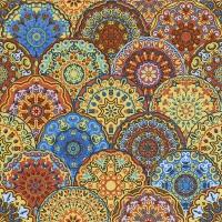 Servietten 33x33 cm - Gotische Rosetten