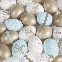 Servietten 33x33 cm - Kostbare Eier